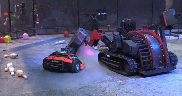 Walki robotów bojowych