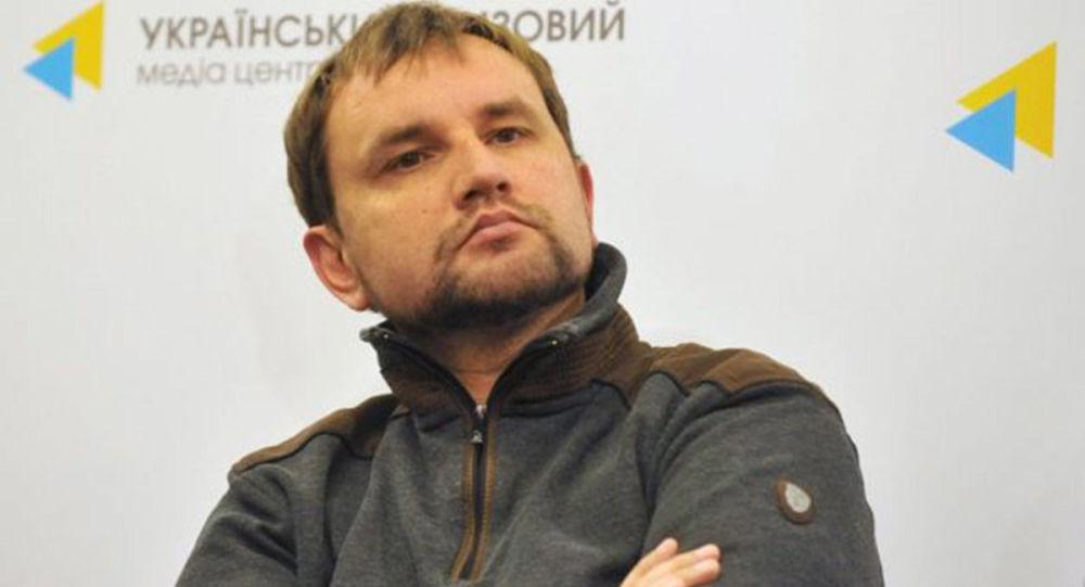 Szef Instytutu Pamięci Narodowej Ukrainy Wołodymyr Wiatrowycz