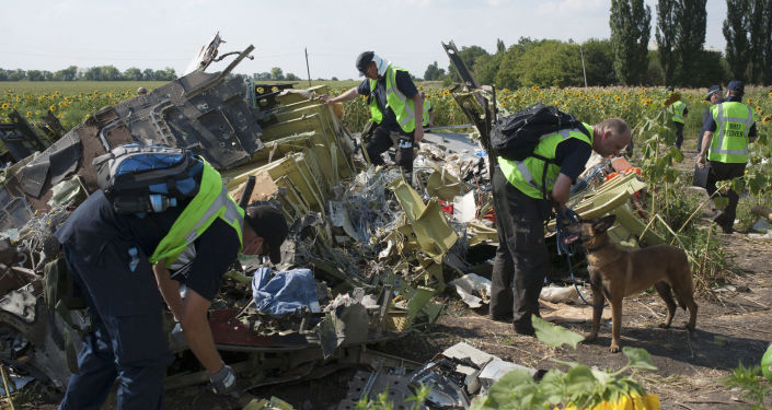 Prace poszukiwawcze na miejscu katastrofy Boeinga-777