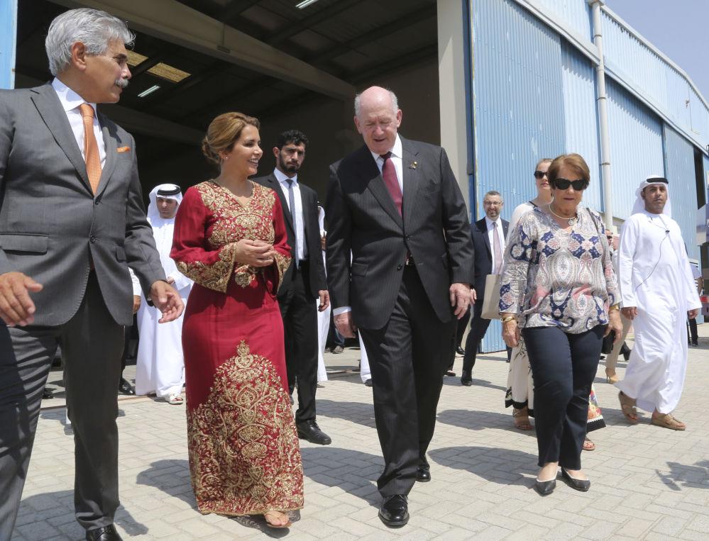 Księżna Jordanii Haya bint Hussein