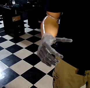 Zrobotyzowana ręka