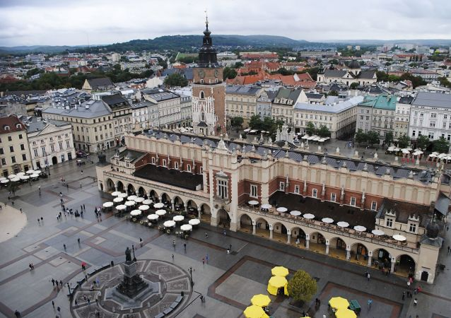 Widok na Kraków