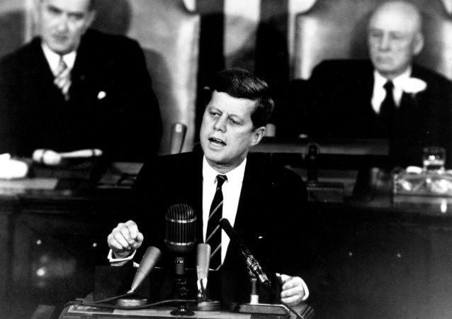 Prezydent USA John Kennedy