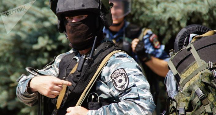 Policja w Ługańsku