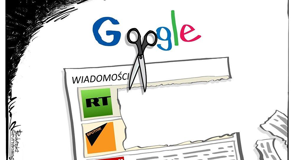 Google blokuje Sputnika i RT