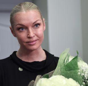 Rosyjska balerina Anastazja Wołoczkowa