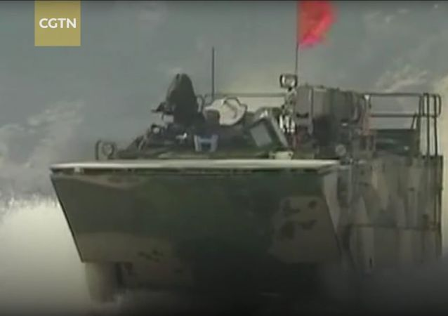 Скриншот видео канала CGTN о китайском танке VN18