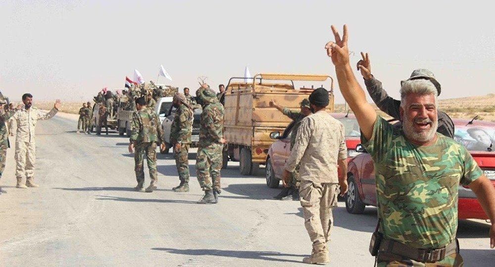 Syryjskie i rackie wojska połączyły się w Abu Kemal