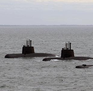 Zaginięcie okrętu podwodnego Argentyny