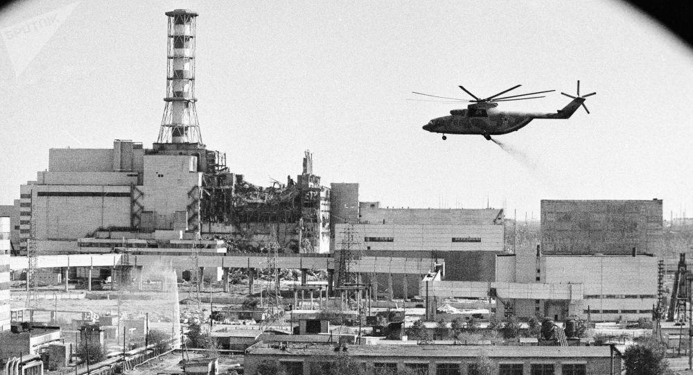 Dekontaminacja elektrowni jądrowej w Czarnobylu