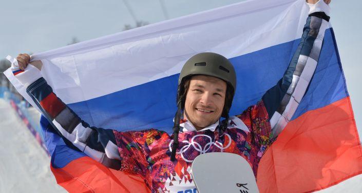 Snowboardzista Wiktor Wild na Igrzyskach Zimowych w Soczi