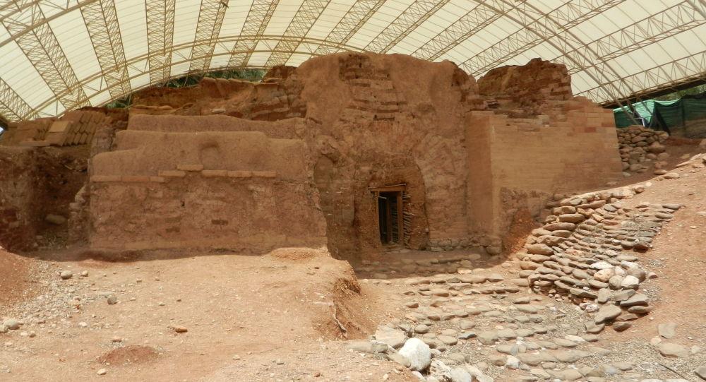 Starożytne miasto Dan w Izraelu