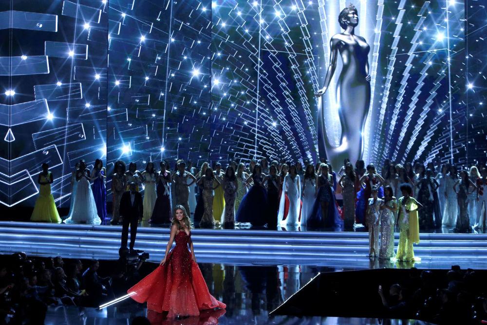 Uczestniczki konkursu piękności Miss Universe-2017 w Las Vegas