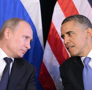Prezydent Wladimir Putin i Prezydent Barack Obama