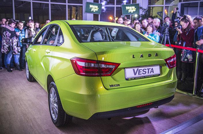 Prezentacja ŁADA Vesta w Moskwie