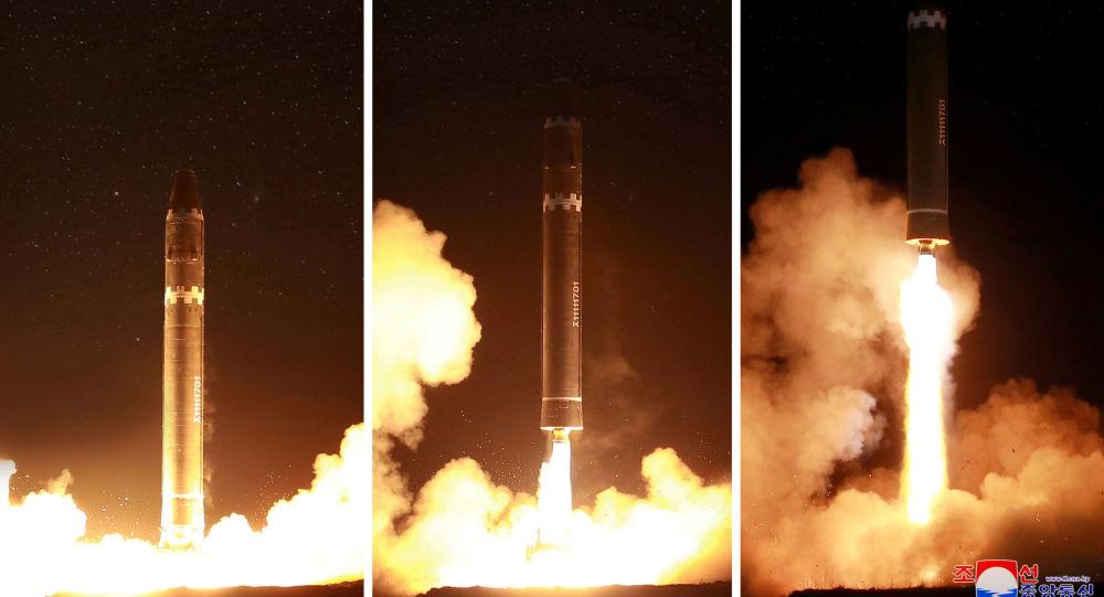 Korea Północna wystrzeliła międzykontynentalną rakietę balistyczną Hwasong-15