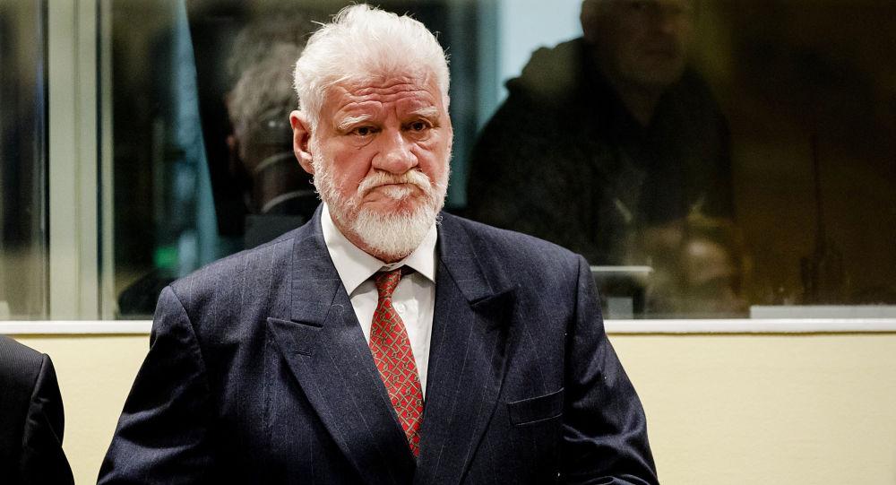 Skazany przez Międzynarodowy Trybunał dla byłej Jugosławii bośniacko-chorwacki generał Slobodan Praljak