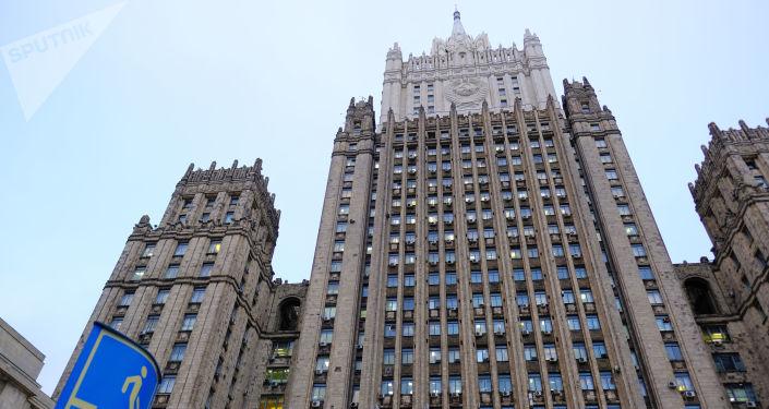 Budynek ministerstwa spraw zagranicznych Rosji