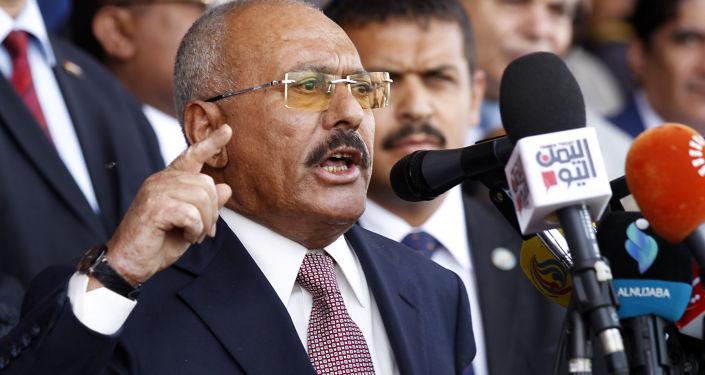 Były prezydent Jemenu Ali Abd Allah Salah