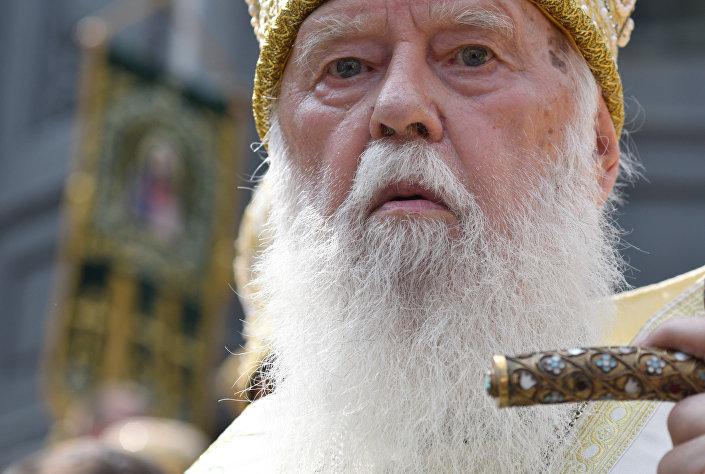Zwierzchnik Ukraińskiej Cerkwi Prawosławnej Patriarchatu Kijowskiego Filaret