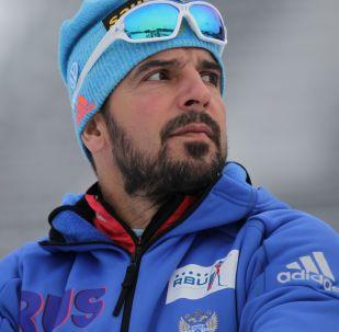 Trener reprezentacji Rosji w biathlonie Ricco Gross