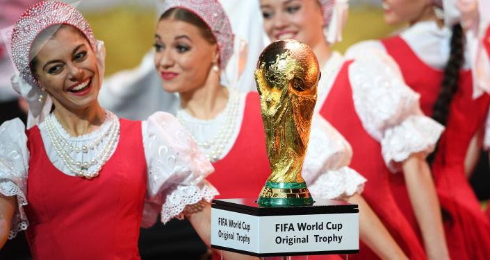 Oficjalne losowanie n Mistrzostwach Świata w Piłce Nożnej 2018