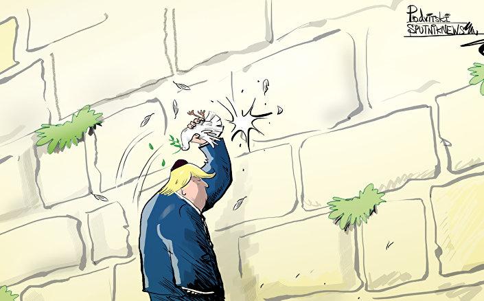 Donald Trump podjął decyzję o przeniesieniu ambasady USA do Jerozolimy