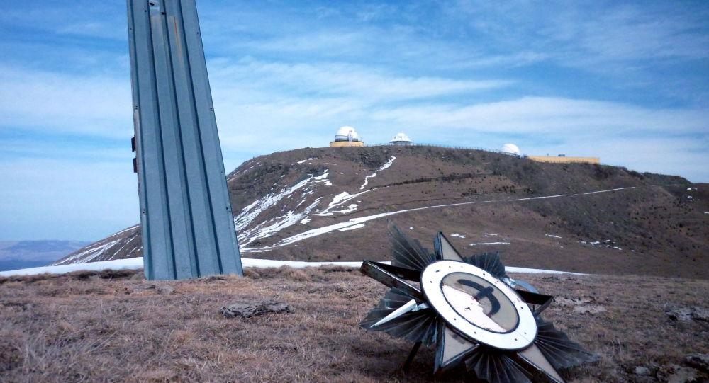 System Krona, lokator kanały A o aperturze 400 m2 w Karaczajo-Czerkiesji