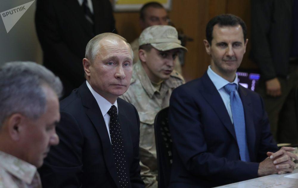 W rosyjskiej bazie Hmeimim doszło do spotkania prezydentów Rosji i Syrii