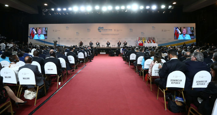 Otwarcie 11. ministerialnej konferencji WTO w Buenos Aires
