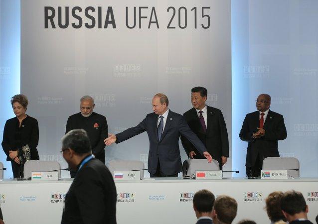Szczyt BRISC w Ufie w Rosji