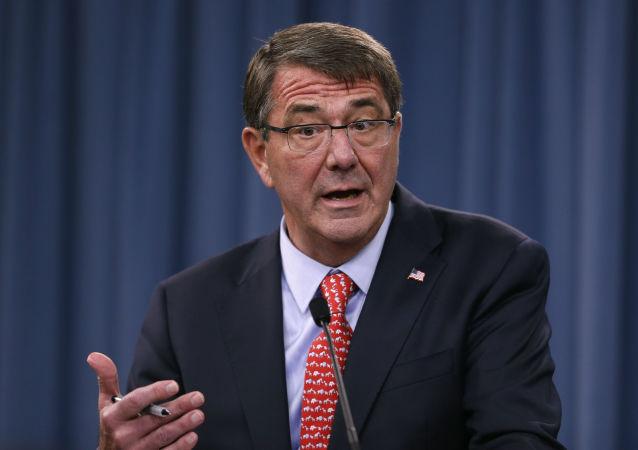 Sekretarz obrony USA Ash Carter