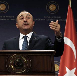 Minister spraw zagranicznych Turcji Mevlüt Çavuşoğlu