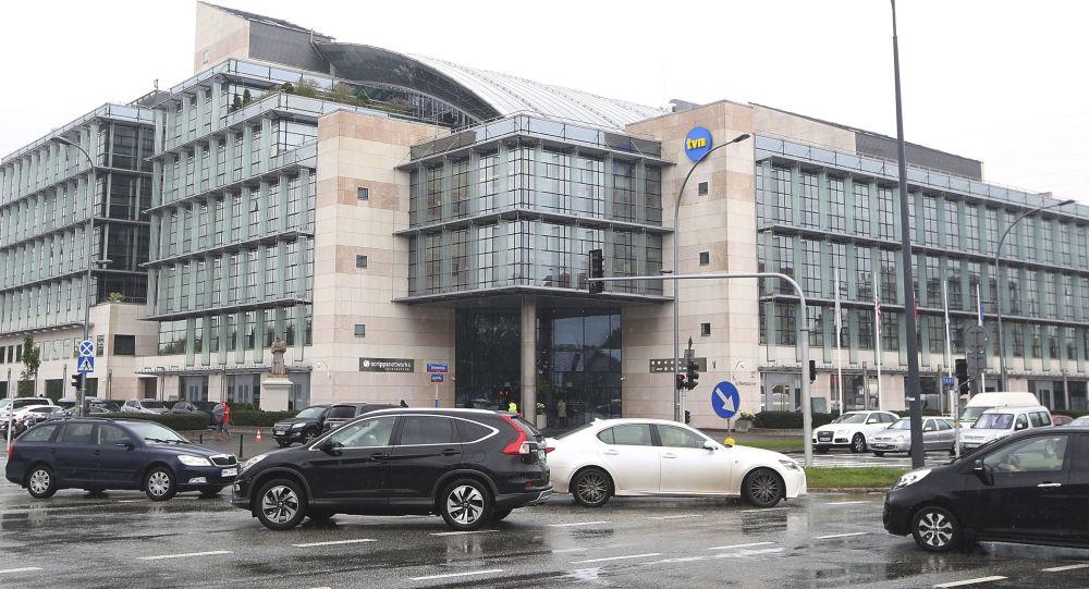 Siedziba stacji telewizyjnej TVN w Warszawie, Polska