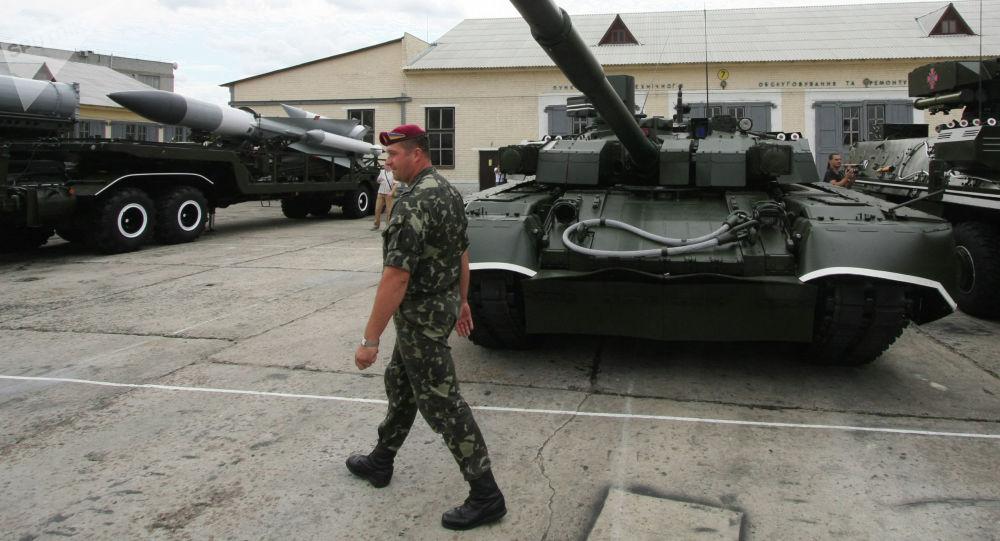 """Czołg T-84U """"Oplot"""" Sił Zbrojnych Ukrainy"""
