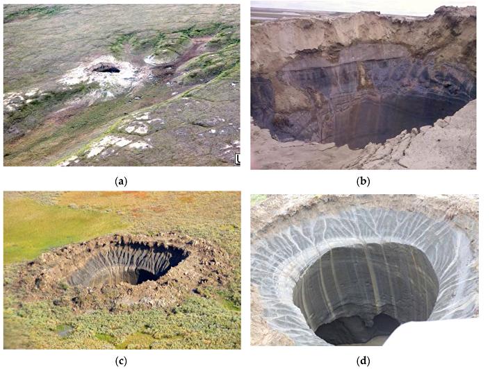 Gigantyczna jama w Jamało-Nienieckim Okręgu Autonomicznym