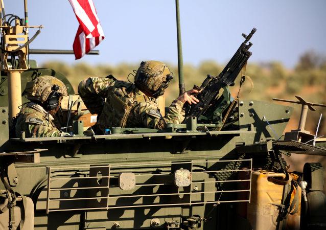 Amerykańscy wojskowi w Syrii