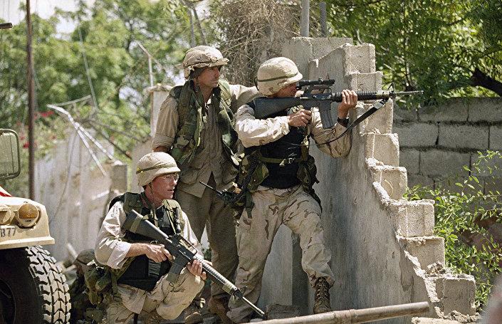 Amerykańskie wojska w Mogadiszu, 1993 rok