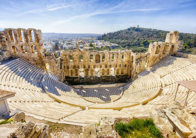 Ruiny staroytnej Grecji