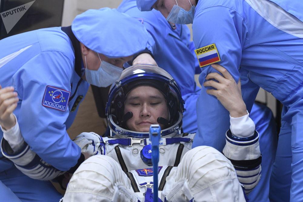 Japoński astronauta JAXA, Norishige Kanai
