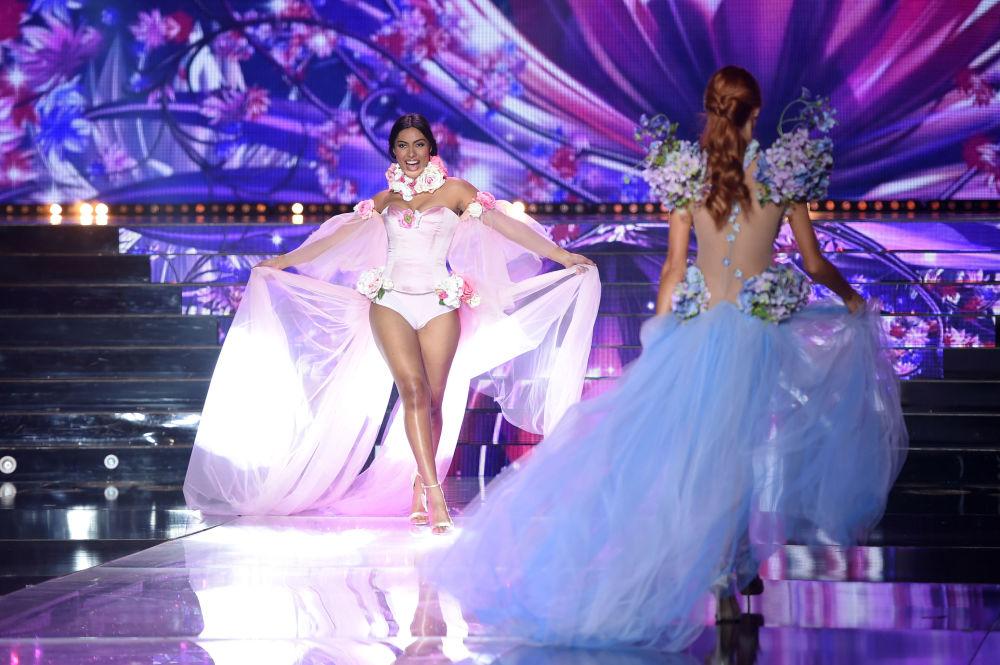 Uczestniczka konkursu piękności Miss Francji 2018,  Audrey Chane-Pao-Kan