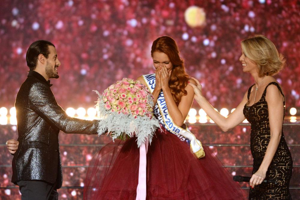 Zwyciężczyni konkursu piękności Miss Francji 2018 Maeva Coucke
