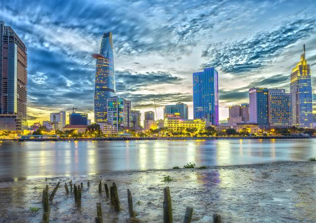 Widok na miasto Ho Chi Minh