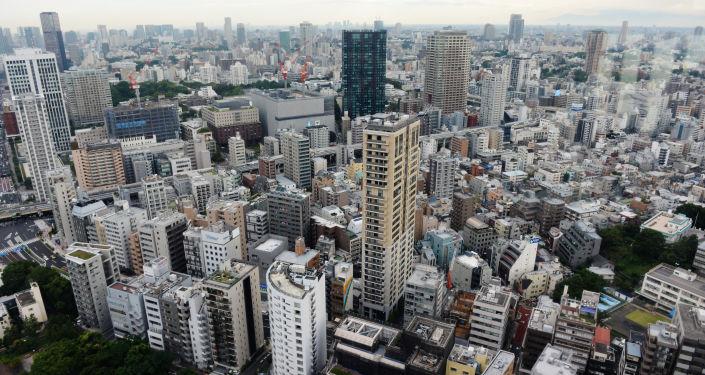 Widok na miasto Tokio