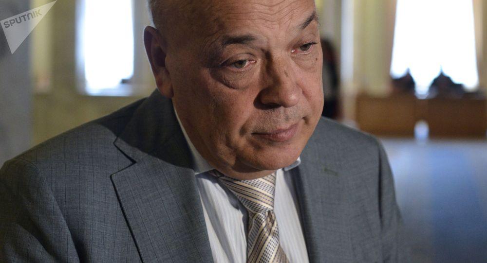 Deputowany Rady Najwyższej z ramienia partii Batkiwszczyna, głowa obwodu zakarpackiego Hennadij Moskal