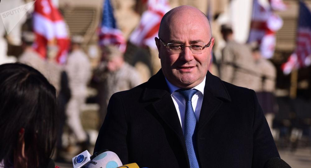 Minister obrony Gruzji Lewan Izoria