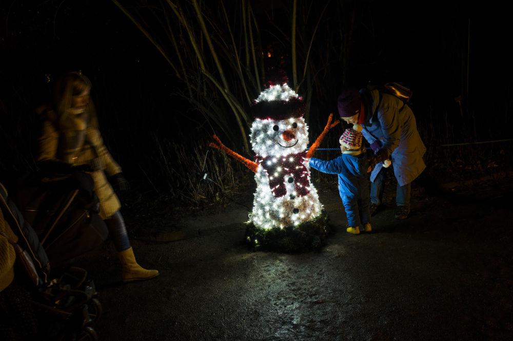 Świąteczne iluminacje w Niemczech