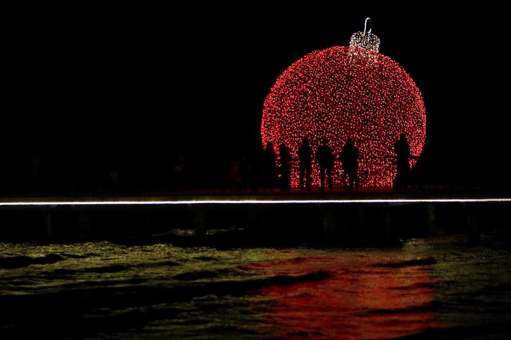 Świąteczne iluminacje na Cyprze
