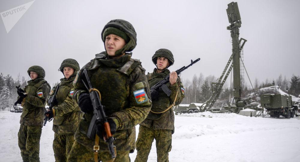 Ćwiczenia wojskowe z użyciem S-400 Triumf