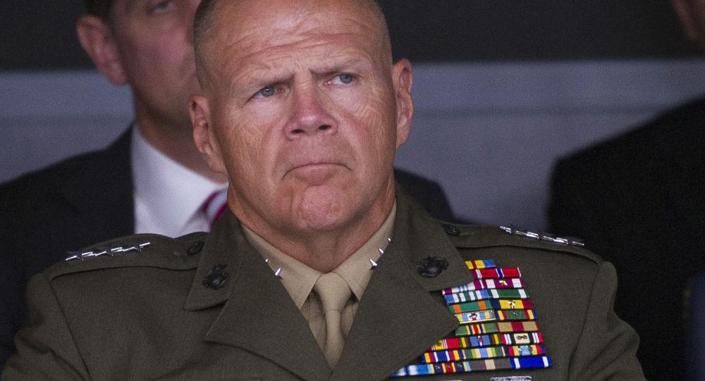 Amerykański generał Robert Neller